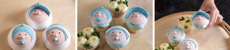 Baby Shower Bouquet Cakes